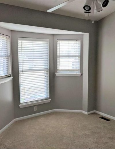 Guest Bedroom Vacant Home Staging, Color Consultation, Redesign, Microstaging