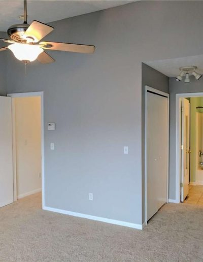 Master Bedroom Vacant Home Staging, Color Consultation, Redesign, Microstaging